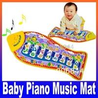 fish Animal Mat piano music game carpet Fashion Kid Children's Educational crawling play mat, baby toys blanket Free Shiping