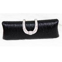 Free shipping 2013  big rhinestone u evening bag evening dress belt chain