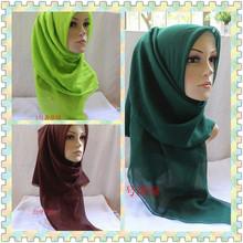 solid scarves promotion