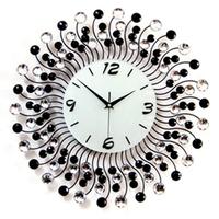 Large tieyi diamond clock fashion luxury fashion wall clock mute clock