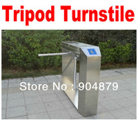 Free Shipping Turnstile(Drop Arm ) 3- Arm Turnstile. Access Control System Semi-Auto Box Style Tripod Turnstile integrate system