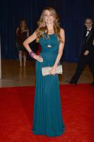 2013 Euro Type free Fast Shipping straight Straps tank v-neck navy blue Sofia Vergara celebrity dresses long with draped
