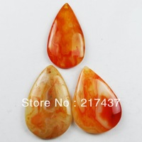 L0244 Free Shopping Beautiful Romantic Fashion Natural Onyx Agate pendant bead 3pcs/lot