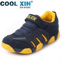Children shoes genuine leather autumn boys child shoes female baby shoes slip-resistant wear-resistant child sport shoes
