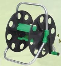 Portable hose reel cart