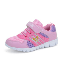 Coolxin boys shoes girls shoes breathable mesh children shoes casual child sport shoes