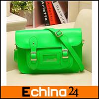 Hot Sale Women's Classic Design Handbag Beautiful Fluorescence Color Women Satchel  Free Shipping