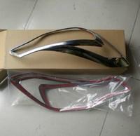 2012-2013 SUBARU XV ABS Chrome Front Headlight Lamp Cover