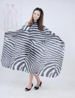 Professional barber cloth zebra print barber cloth b028