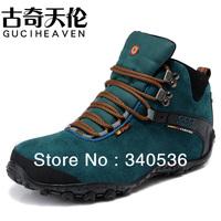 Free shipping 2013 new design men plus wool hiking shoes winter outdoor plush hiking shoes waterproof Mountaineering shoes 38-45