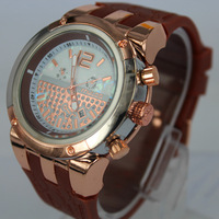 New! ! ! MULCO watch in the face of a world map in 2013 stainless steel quartz watch + / date on the calendar, New Year gift