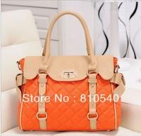 2013 Korean brand new bag shoulder hand PU leather handbag wholesale