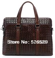 Free Shipping genuine leather man bag business computer bag fashion laptop handbag shoulder bag briefcase leather messenger bags