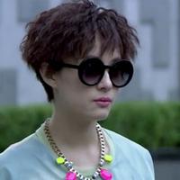 Star style glasses fashion vintage fashion sunglasses circle sun glasses trend sunglasses