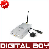 1.2GHz  Mini Camera + Wireless Video&Audio Receiver CCTV Camera Kit Mini Wireless CCTV Camera Transmitter & Receiver