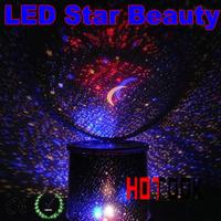 LED Christmas Light Star Beauty lighting led star Master Sky Night Lights Amazing Flashing Lovely Starry Projector x-mas gift