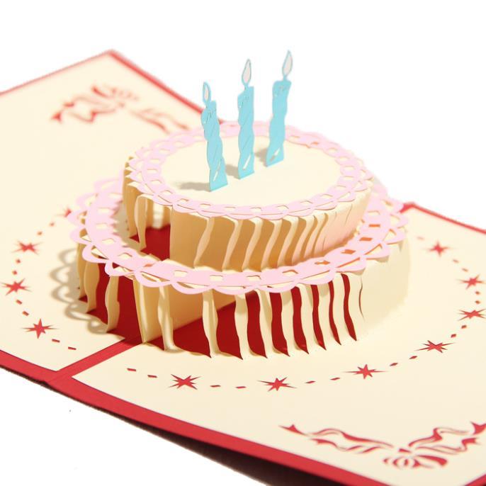 Florid Birthday Cake