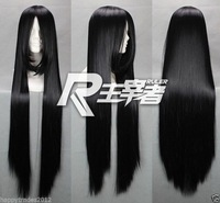 "32"" School Days-Kotonoha Black Straight Anime Cosplay WIG"