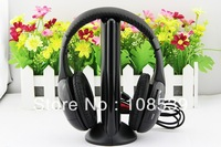 5 in 1 HIFI Wireless headphone Earphone Headset wireless Monitor FM   radio for MP4 PC TV audio #ALO1