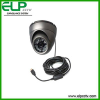 Free shipping Face Detection Dome Infrared PC USB Camera ELP-UD258