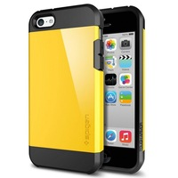 Free Shipping 1pc/lot Newest Ultra Thin SLIM ARMOR SPIGEN SGP TPU +Plastic Hybrid Hard Case Cover For iphone 5C