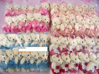 teddy bear , 12pcs/pack, ,fashional Toy, Plush Toy ,stuffed teddy bear  rag doll