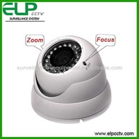 1000TVL Zoom and focus Waterproof dome camera with OSD, Cable controller, BLC, Zoom in