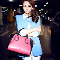 Female bags fashion women's bags 2013 smiley bag handbag one shoulder messenger bag  GS2050