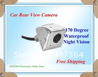 Free shipping Luxury Waterproof CCD Camera backup reverse rearview parking camera