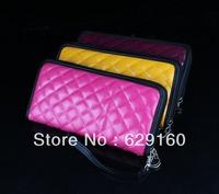 Ms. Korea Long plaid PU wallet zipper wallet women, women fashion clutch bag