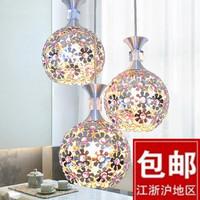 Lamps modern dining room lamp bedroom lamp crystal pendant lamp aluminum light stair pendant light