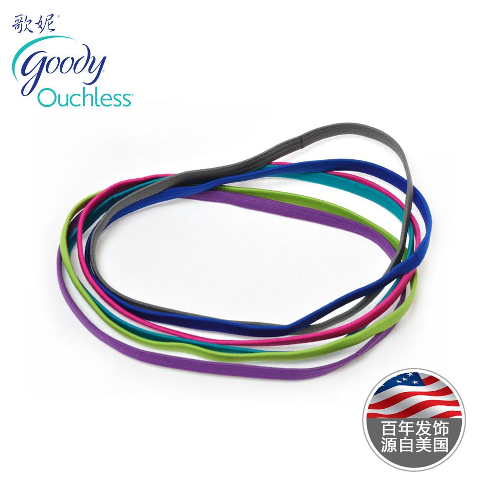 Goody hair accessory elastic sports hair band yoga multicolour tousheng 6(China (Mainland))