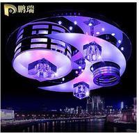Pengs modern brief ceiling light crystal led lighting fitting fashion lighting