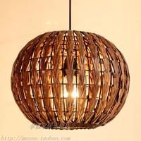 Rattan lighting lamps rattan lamp energy saving lamp rattan pendant light