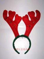 Christmas antlers hair pin christmas headband hair stick hair accessory belt bell Christmas ball decoration