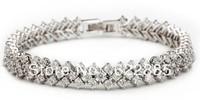 New ROME Ultra fine Inlaid CZ AAA+ Swiss CZ Diamond Bracelet  Stones women's fashion EF0831