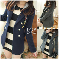 Octopussy 2013 preppy style with a hood wool slim wool coat outerwear female  FREE SHIPPING