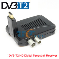 Mini DVB-T2 HD Digital Terrestrail Receiver with PVR USB Set Top TV Box HDMI TV In TV Out Singapore Post Free Shipping