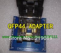 Free shipping CHIP PROGRAMMER SOCKET TQFP44 QFP44/ PQFP44 TO DIP44 adapter socket