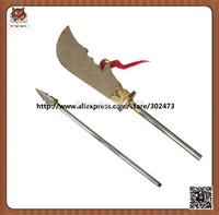 Wushu weapons-Stainless steel Kwon dao (Guandao)