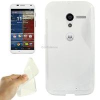 Case for Motorola Moto X Transparent S Line Anti-skid Protection TPU Case