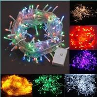2pcs/lot Multicolour,led string light,christmas lights,AC110V 8M 52LED for Christmas Party Wedding full Colors Free mail