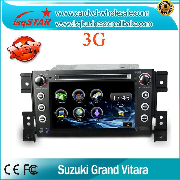 car radio navigation For suzuki Vitara 2005-2011 with gps navigation BT radio ipod RDS TV Touch Screen(China (Mainland))