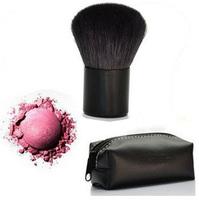 New Pro Makeup Brushes Cosmetics Beauty Face Brush /Powder Brush/Blush Brush/ + Pouch 1 PCS Drop Shipping Free Shipping