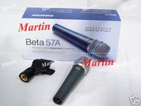 LOwest Price New designed mic 3pcs Beta57A Beta 57A Cardioid vocal microphone Wired microphones
