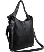 Free shipping 2014 women's vintage handbag women casual fashion genuine leather handbags big size messenger bags shoulder bags