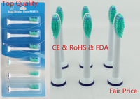 2014 Top Quality CE & RoHS Free HK post PX6016 Compatible HX6013/HX6011 for philips sonicare electric toothbrush heads Standard