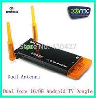 U29-2R CX-919 II Dual core dual antenna Android TV Box 1GB RAM 8GB ROM Stronger signal Bluetooth tv stick