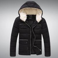 Supplying top peach sportsman hooded down coat padded jacket men's jacket men