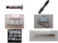 Free shipping 6 in 1 computer laptop bga reballing kit soldering tools